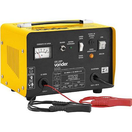 Carregador Bateria Cbv1600 220v Vonder