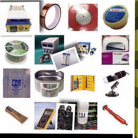 Kit Completo Para Assistência Técnica De Celulares - 18 Itens