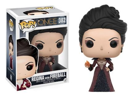 Funko Pop Vinyl Regina With Fireball - Once Upon a Time