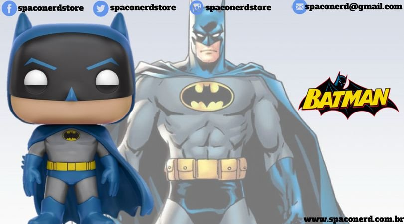 Funko Pop Vinyl Batman - DC Super Heroes