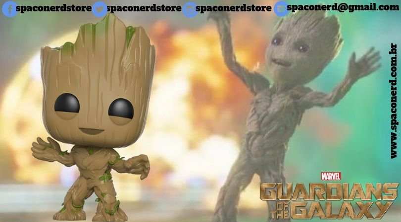 Funko Pop Vinyl Groot - Guardians of The Galaxy Vol 2