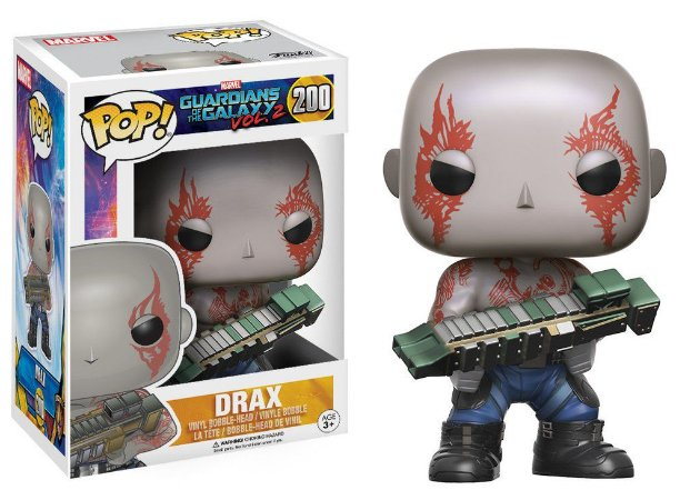 Funko Pop Vinyl - Drax - Guardians of The Galaxy Vol 2