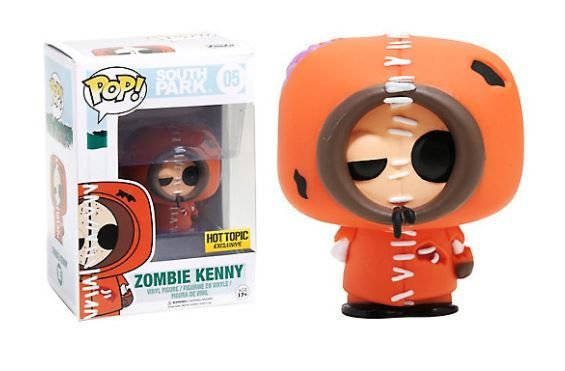 Funko Pop Vinyl Zombie Kenny - South Park - Exclusivo HT