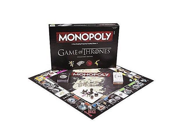 Monopólio - Game of Thrones - Edição de Colecionador [Em inglês]