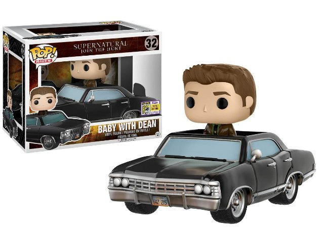 Funko Pop Vinyl Baby With Dean - Supernatural - Edição SDCC Comic Con 2017