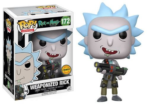 Funko Pop Vinyl Rick and Morty - Weaponized Rick (Chase)