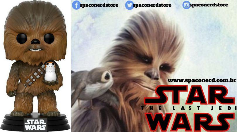 Funko Pop Vinil Star Wars - Chewbacca