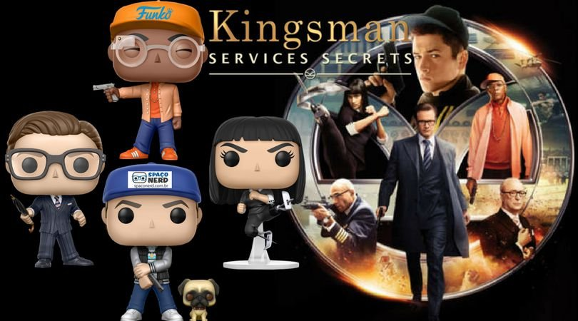Funko Pop Vinyl Kingsman Services Secrets