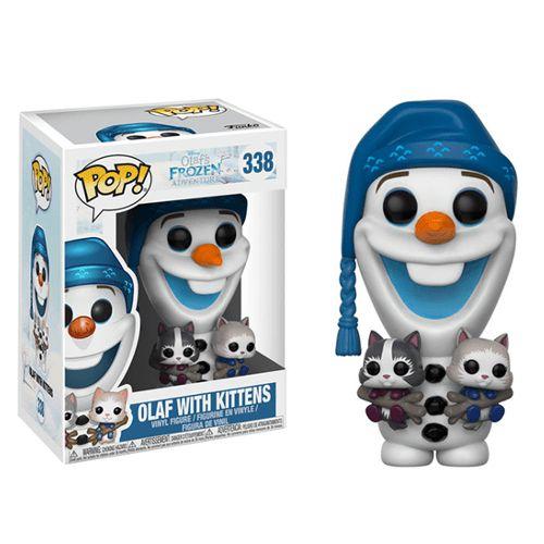 Funko Pop Vinyl Disney Frozen - Olaf With Kittens