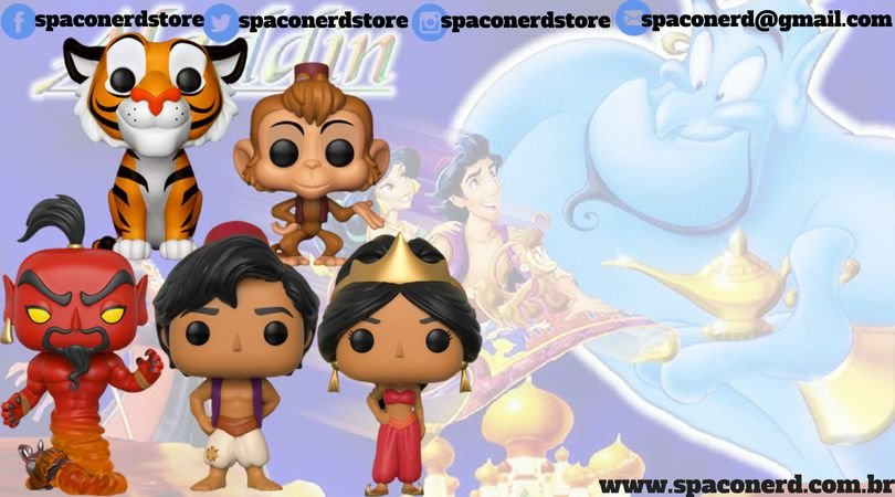Funko Pop Vinyl Disney - Aladdin