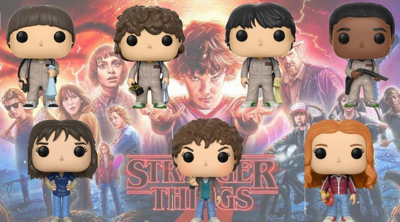 Funko Pop Vinyl Stranger Things 2ª Temporada