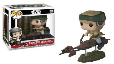 Funko Pop Princess Leia with Speeder Bike - Star Wars