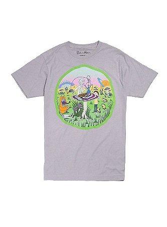 T-Shirt Rick and Morty Dimensão Wonderland
