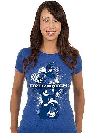 T-shirt Feminina Overwatch Mei