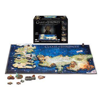 Game of Thrones Westeros & Essos 4D Puzzle