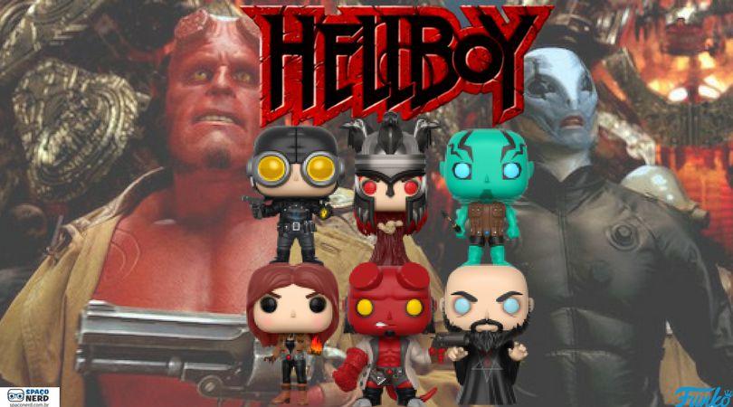 Funko Pop Vinyl Hellboy