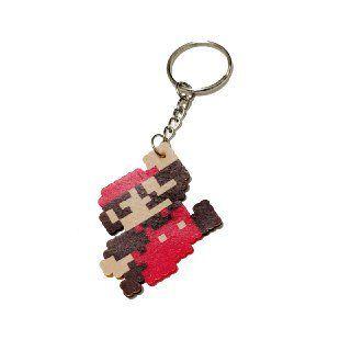 Chaveiro Mario 8 Bit