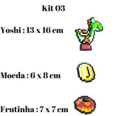 Imãs de Geladeira Super Mario World