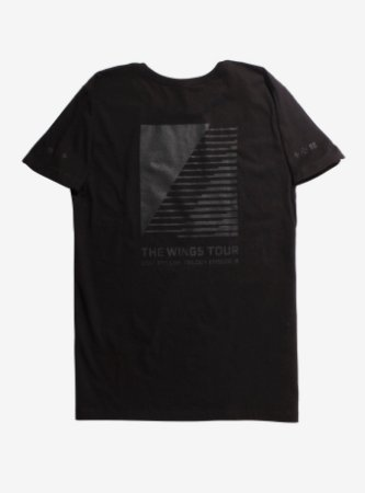 T-Shirt Masculina BTS The Wings Tour - Exclusiva Hot Topic