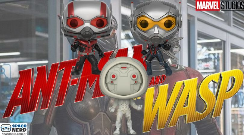 Funko Pop Vinyl Ant-Man and the Wasp