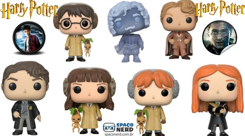 Funko Pop Vinyl Harry Potter (Novos)