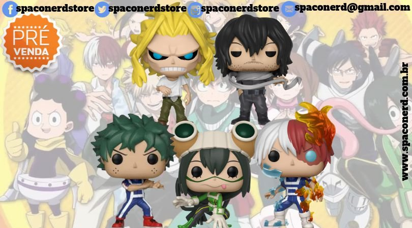 Funko Pop Vinyl My Hero Academia