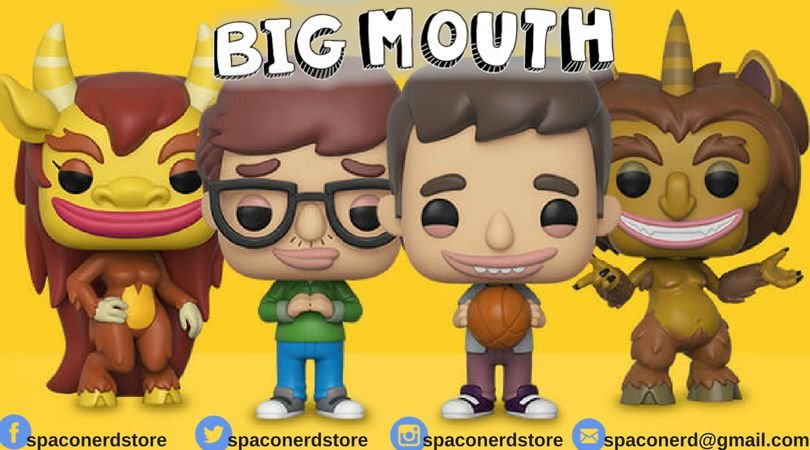 Funko Pop Vinyl Big Mouth