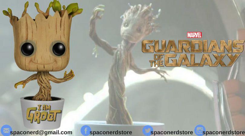 Funko Pop Vinyl Marvel Guardiões da Galáxia - Baby Groot Dançando
