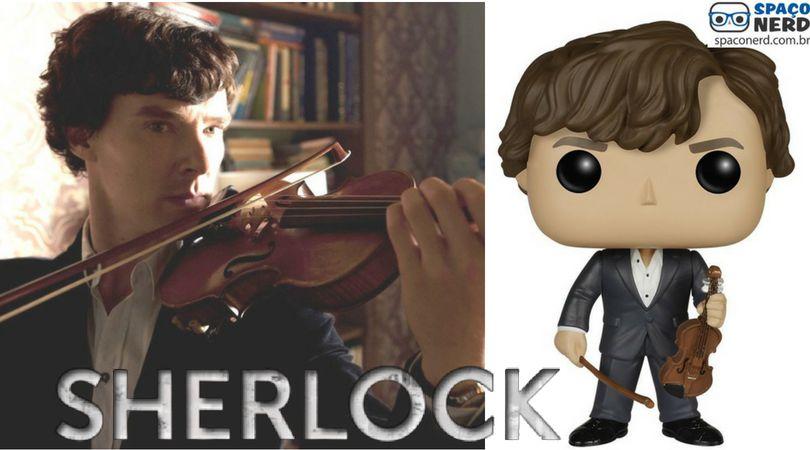 Funko Pop Vinyl Sherlock Holmes With Violin