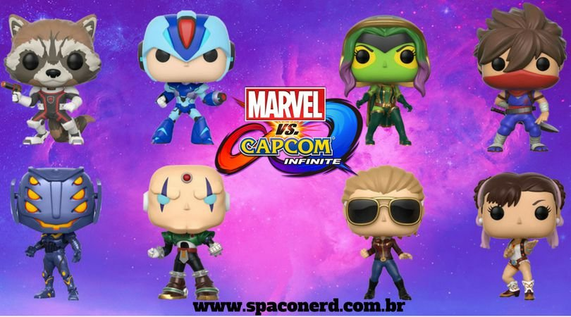 Funko Pop Vinyl Marvel VS Capcom