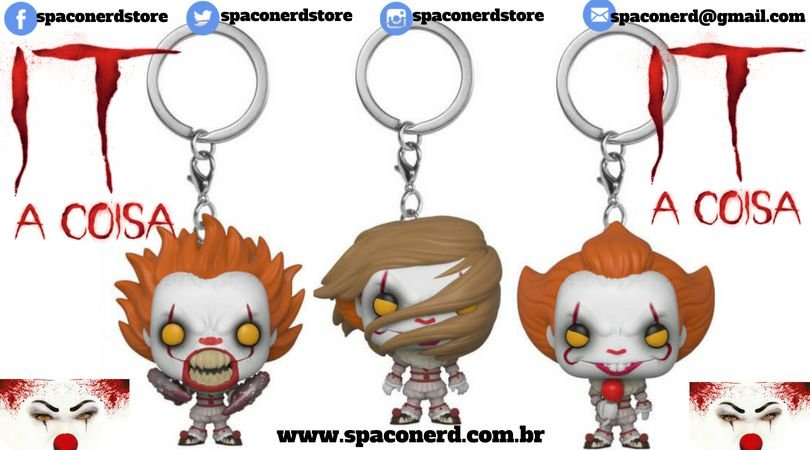 Chaveiro Pocket IT Pennywise