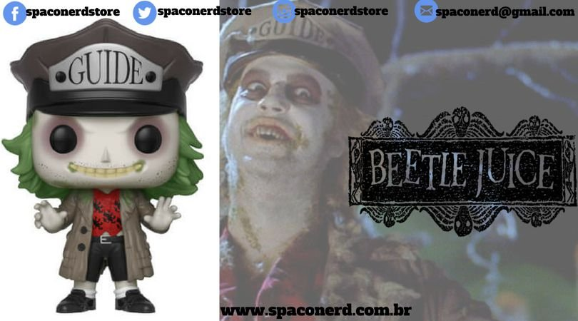 Funko Pop Vinyl Beetlejuice with Hat