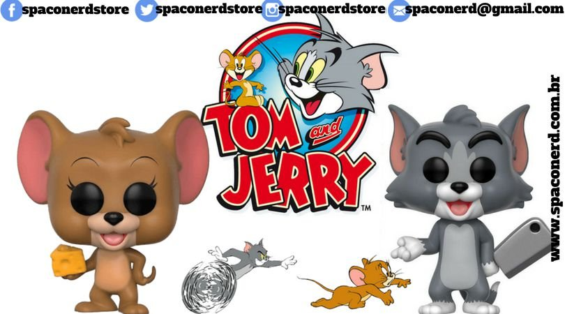Funko Pop Vinyl Tom e Jerry