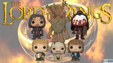 Kit de Funkos Pop Vinyl The Lord of The Rings