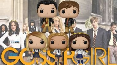 Kit Completo de Funkos Pop Vinyl Gossip Girl