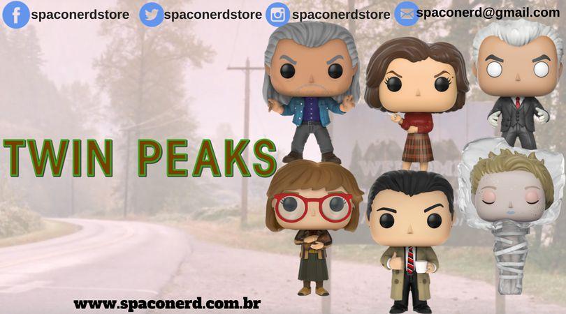 Kit Completo de Funkos Pop Vinyl Twin Peaks