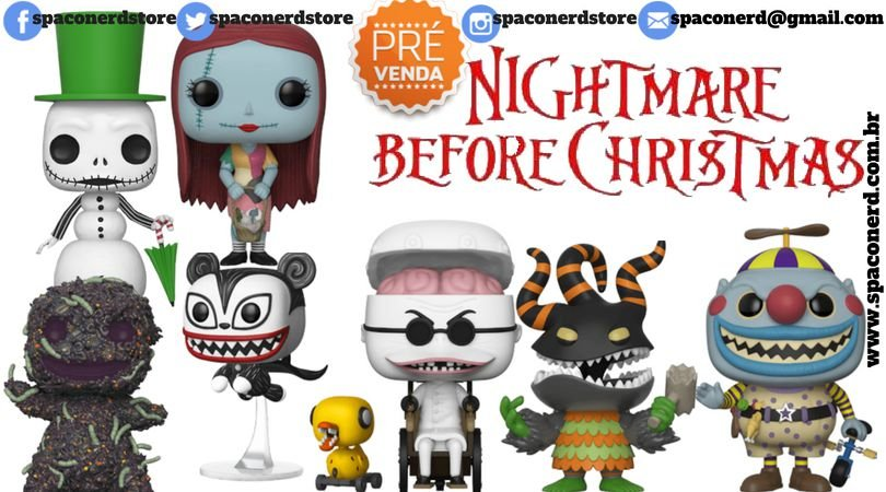 Funko Pop Vinyl Disney - The Nightmare Before Christmas