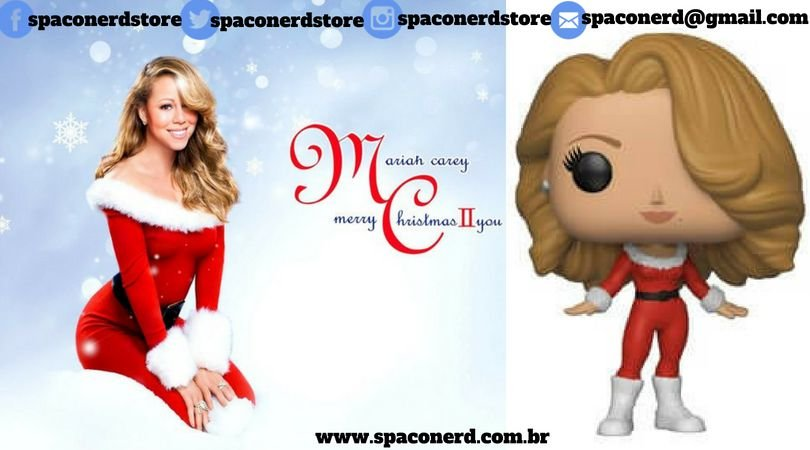 Funko Pop Vinyl Rock's Mariah Carey