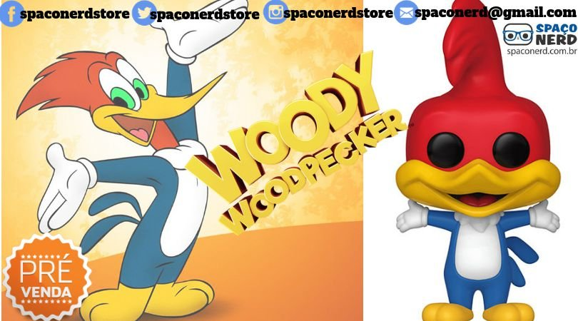 Funko Pop Vinyl Woody Woodpecker