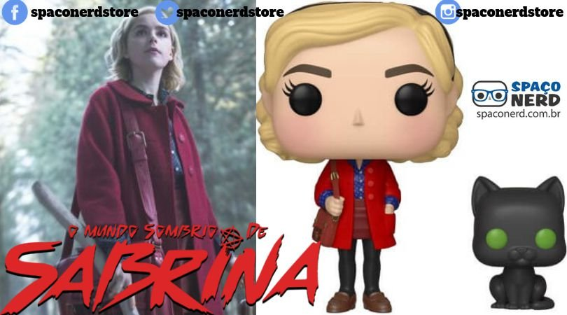 Funko Pop Vinyl Sabrina with Salem