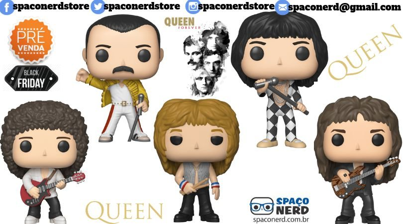 Funko Pop Vinyl Rock Quenn