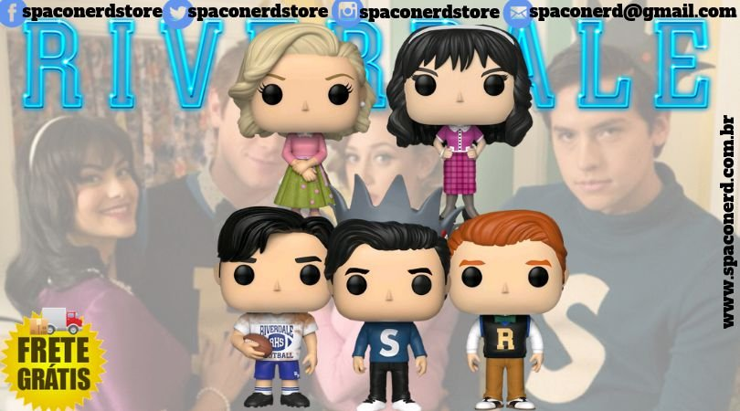Funko Pop Vinyl Riverdale 2ªTemporada