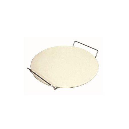 Forma De Pedra Com Suporte Para Assar Pizza Fackelmann