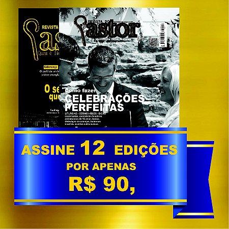 Revista do Pastor - Assinatura 12 edições
