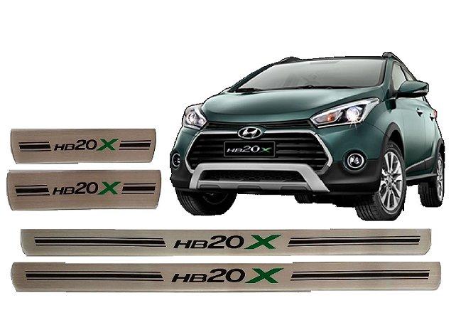 Jogo De Soleiras Hyundai Hb20X 2014 A 2020