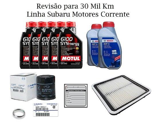Kit Revisão 30 Mil Km Subaru Impreza 2.0 XV 2.0