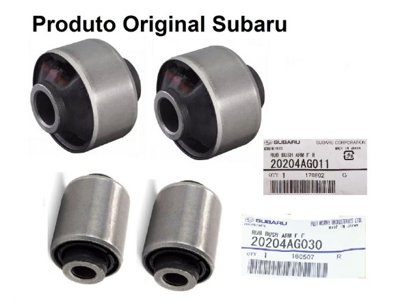 Kit Bucha Subaru Original Forester 2.0 LX SX XT 2.5 Impreza 2.0 XV 2.0