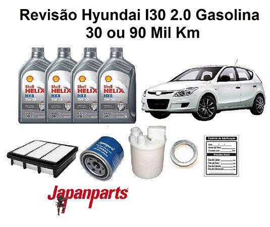 REVISÃO HYUNDAI I30 2.0 GASOLINA 30 OU 90 MIL KM