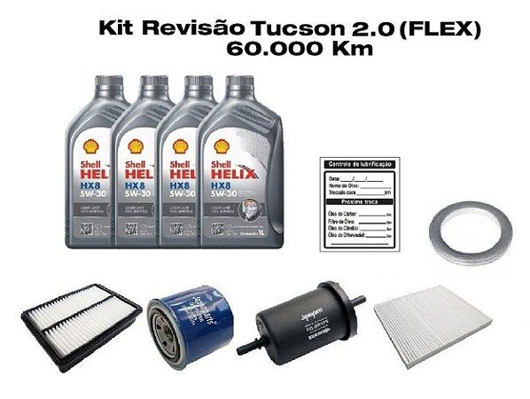 Revisão Hyundai New Tucson 2.0 Flex 60 Mil Km