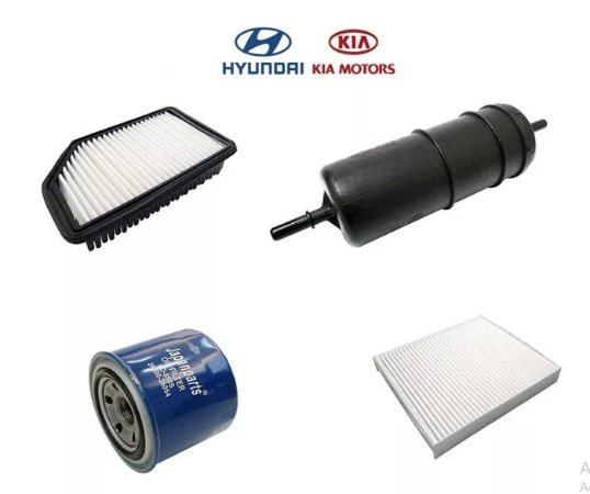 KIT FILTROS KIA SOUL 1.6 FLEX 2011 2012